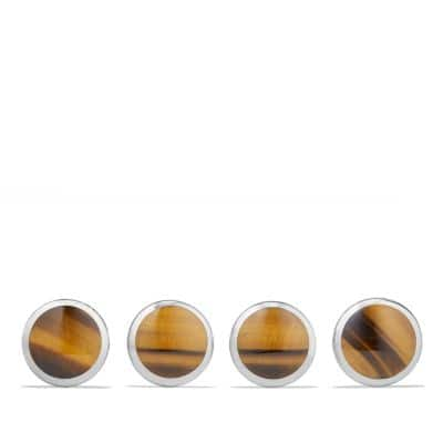 Streamline Studset with Tigers Eye