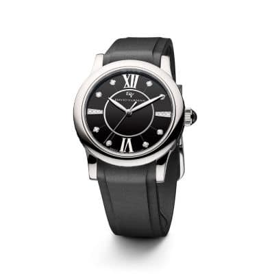 Classic 34mm  Rubber Swiss Quartz Watch