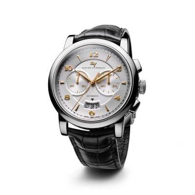 Classic 43.5mm Stainless Steel Chronograph Watch