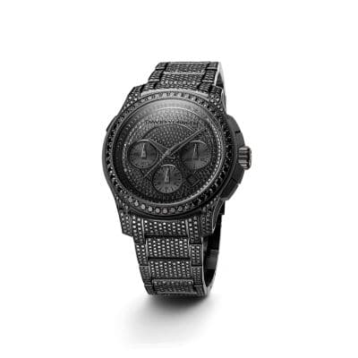 David Yurman Revolution® 43.5mm Chronograph Watch with Black Diamonds