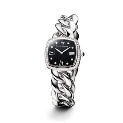 Albion 27mm Stainless Steel Quartz Timepiece with Diamonds
