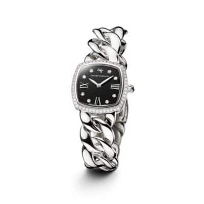 Albion 23mm Stainless Steel Quartz Timepiece with Diamonds