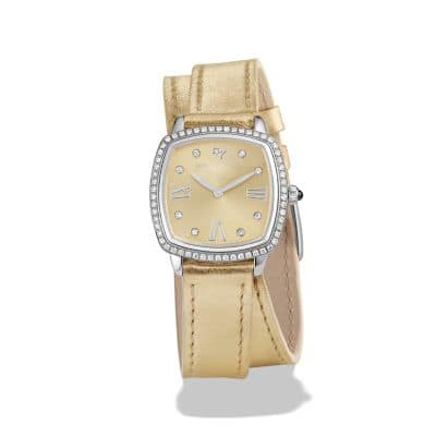 Albion 27mm Gold Metallic Swiss Quartz Watch