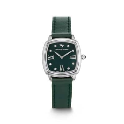 Albion Leather Watch Strap in Green