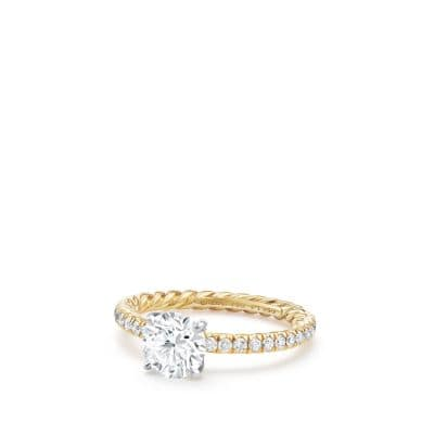DY Eden Engagement Ring in 18K Gold