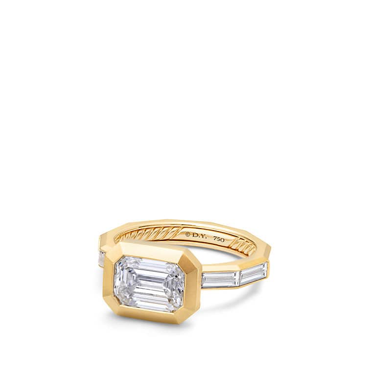 vrai oro sustainable wedding solid ring the classic rings collections solitaire engagement gold jewelry diamond and yellow
