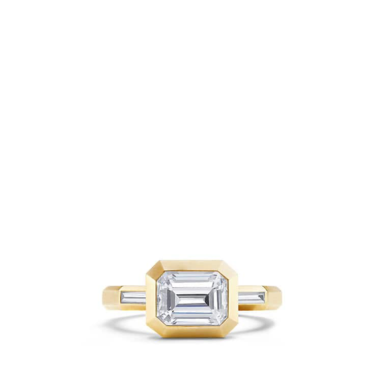 DY Delaunay  Engagement Ring in 18K Gold