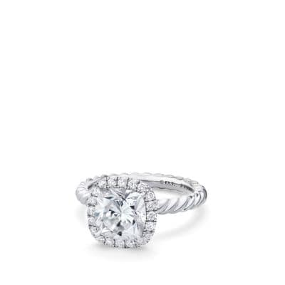 DY Capri Engagement Ring, DY Signature Cut