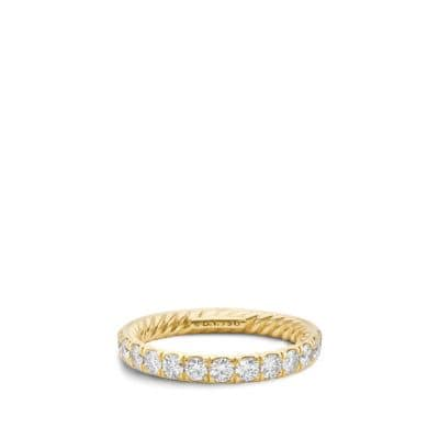 Eternity Wedding Band in 18K Gold