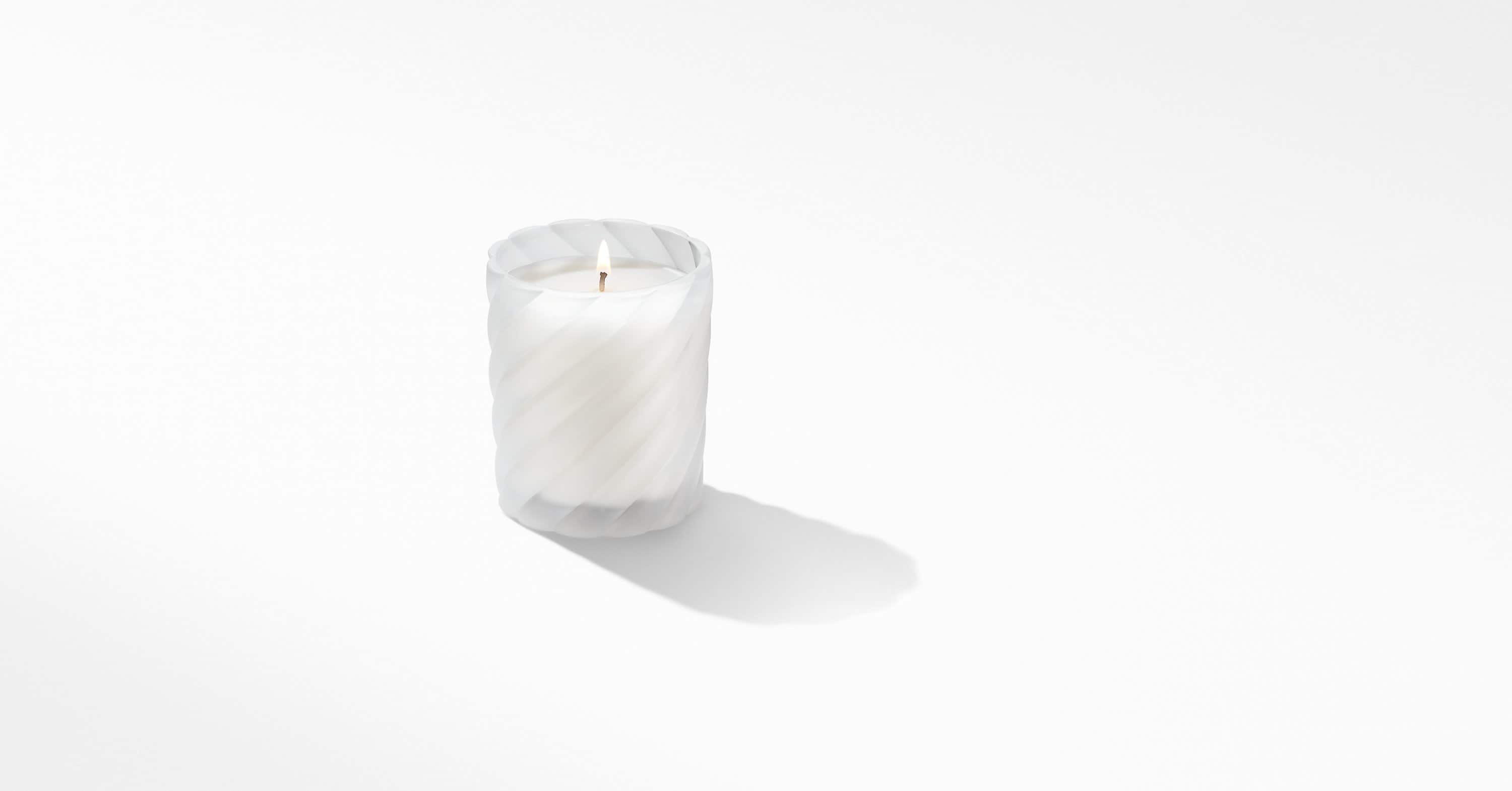 Cable Classic Candle with Cypress Scent