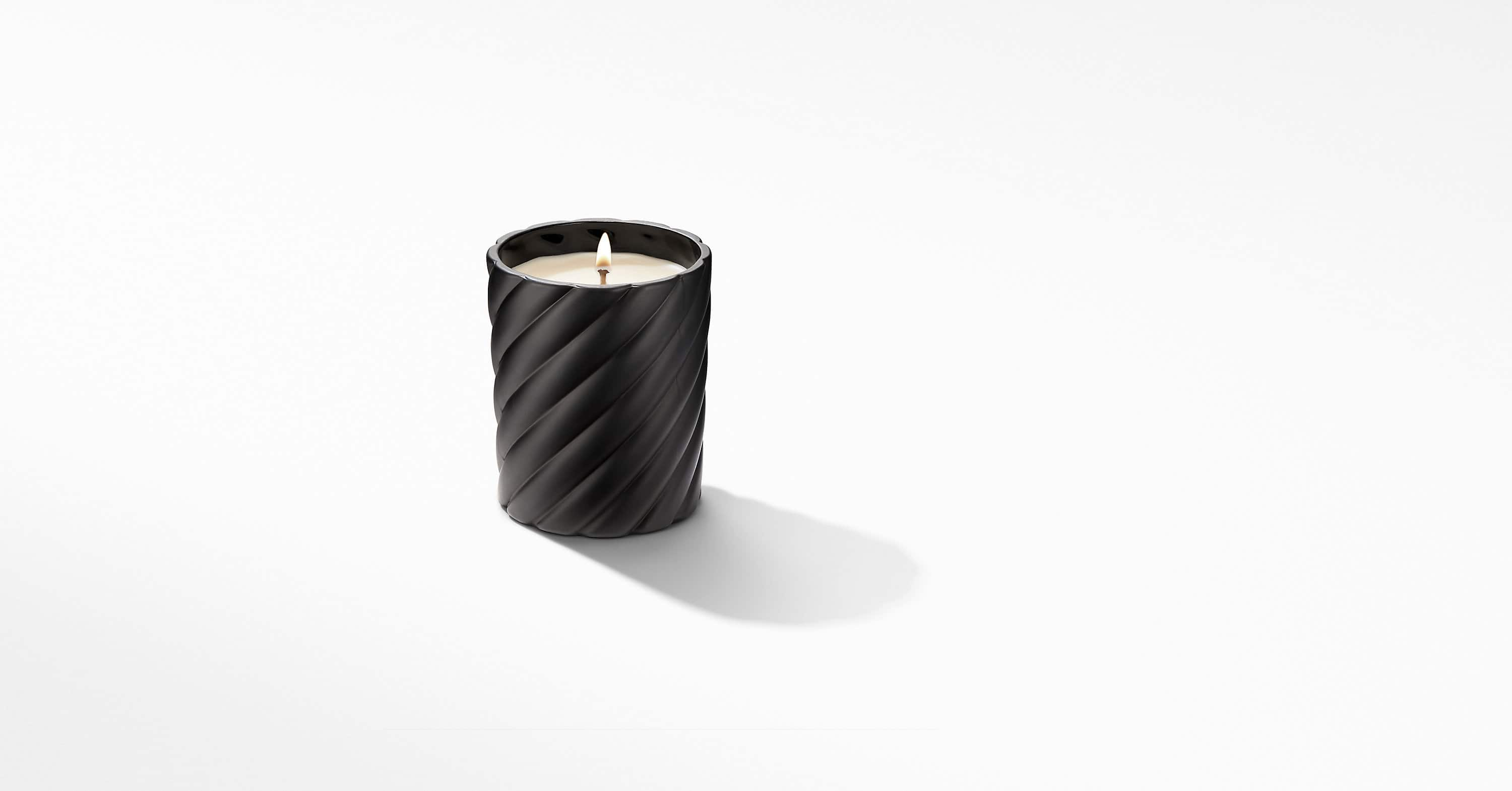 Cable Classic Candle with Amber Scent