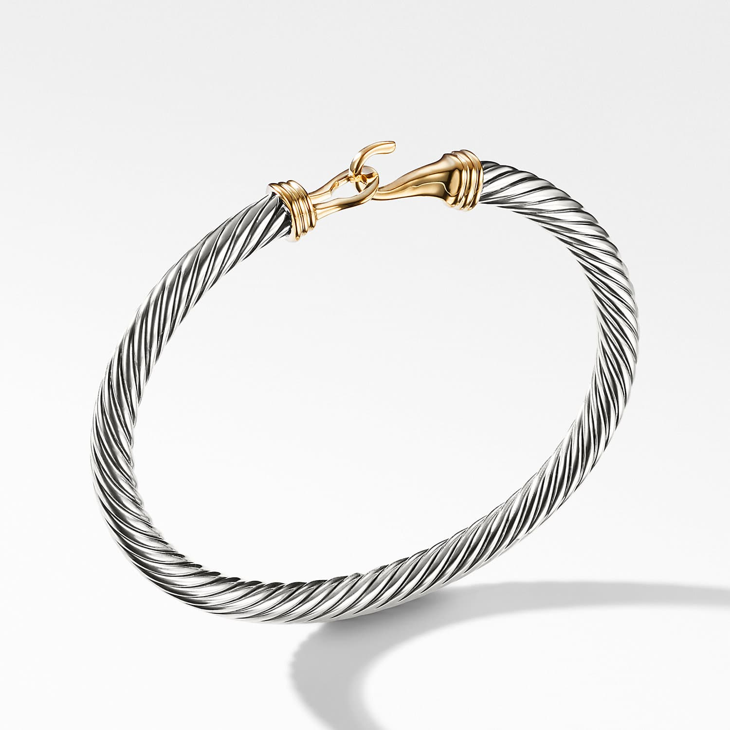 Cable Clic Buckle Bracelet With 14k Gold 5mm Product Image