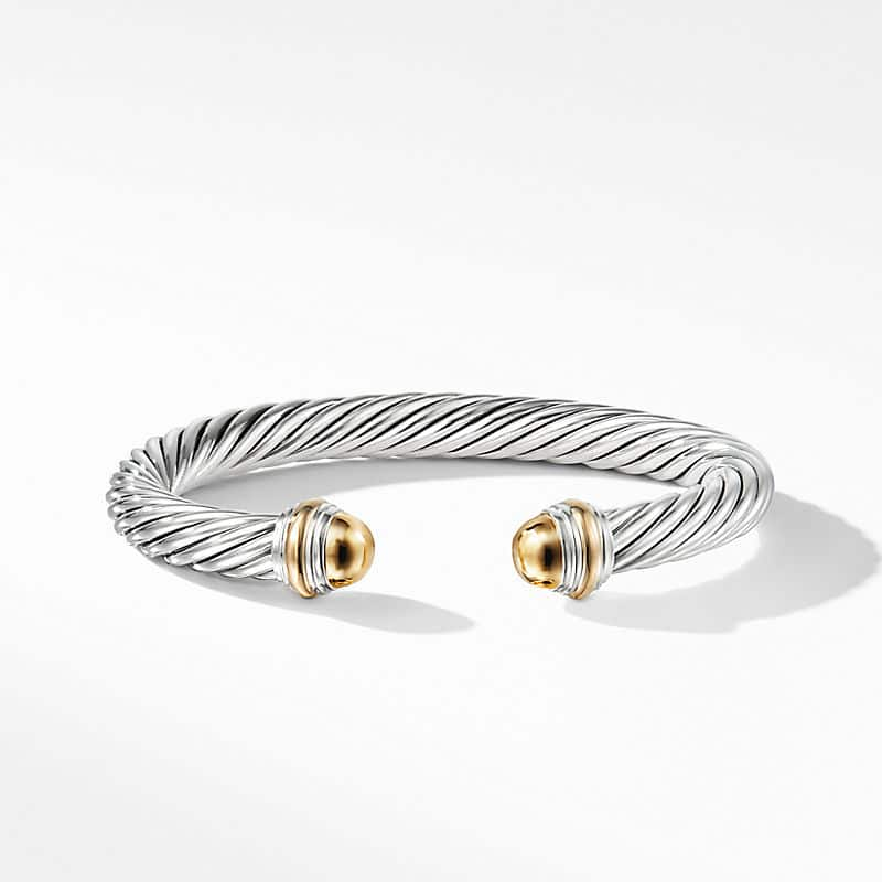 Cable Classic Collection® Bracelet with 14K Yellow Gold