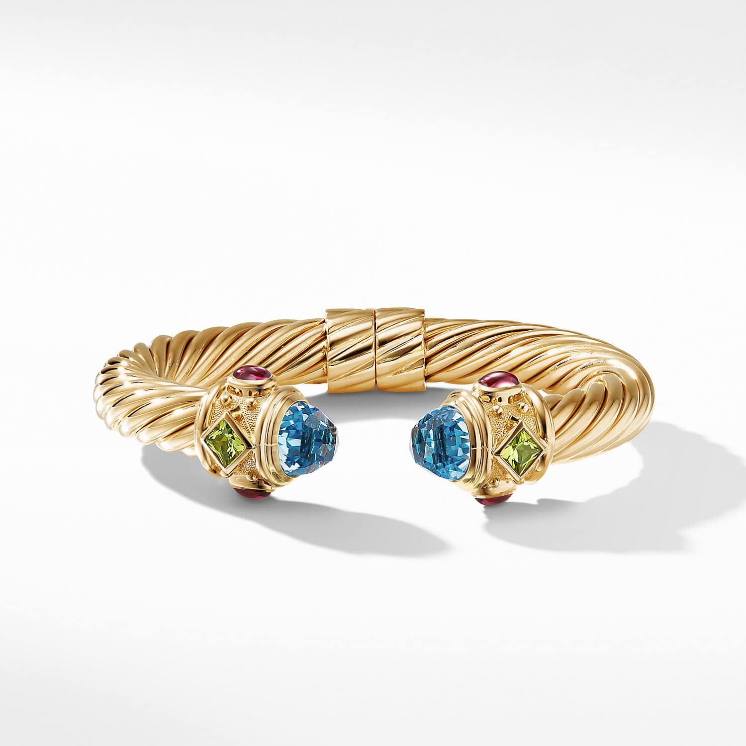 1c8b7d39c Renaissance Bracelet in 18K Gold with Blue Topaz, Peridot and Pink  Tourmaline Product Image