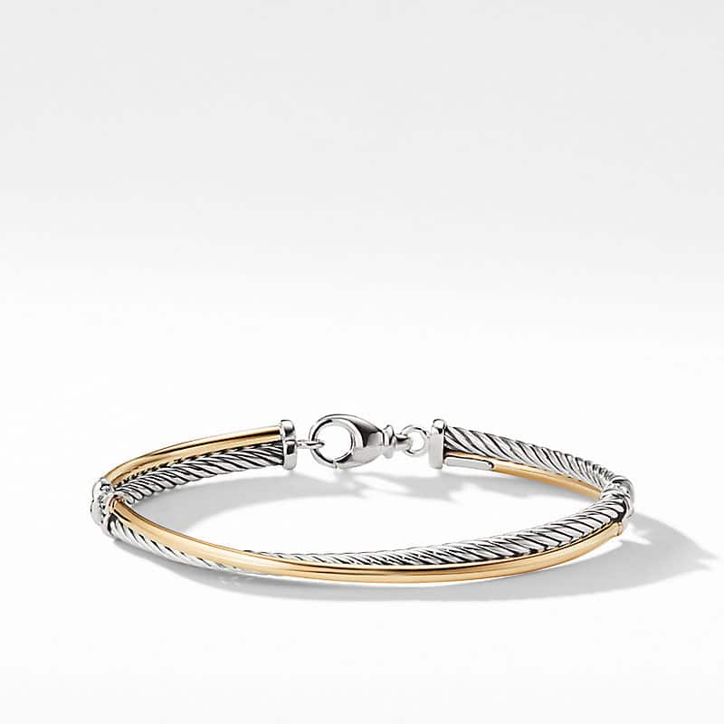 The Crossover Collection® Bracelet with 18K Yellow Gold