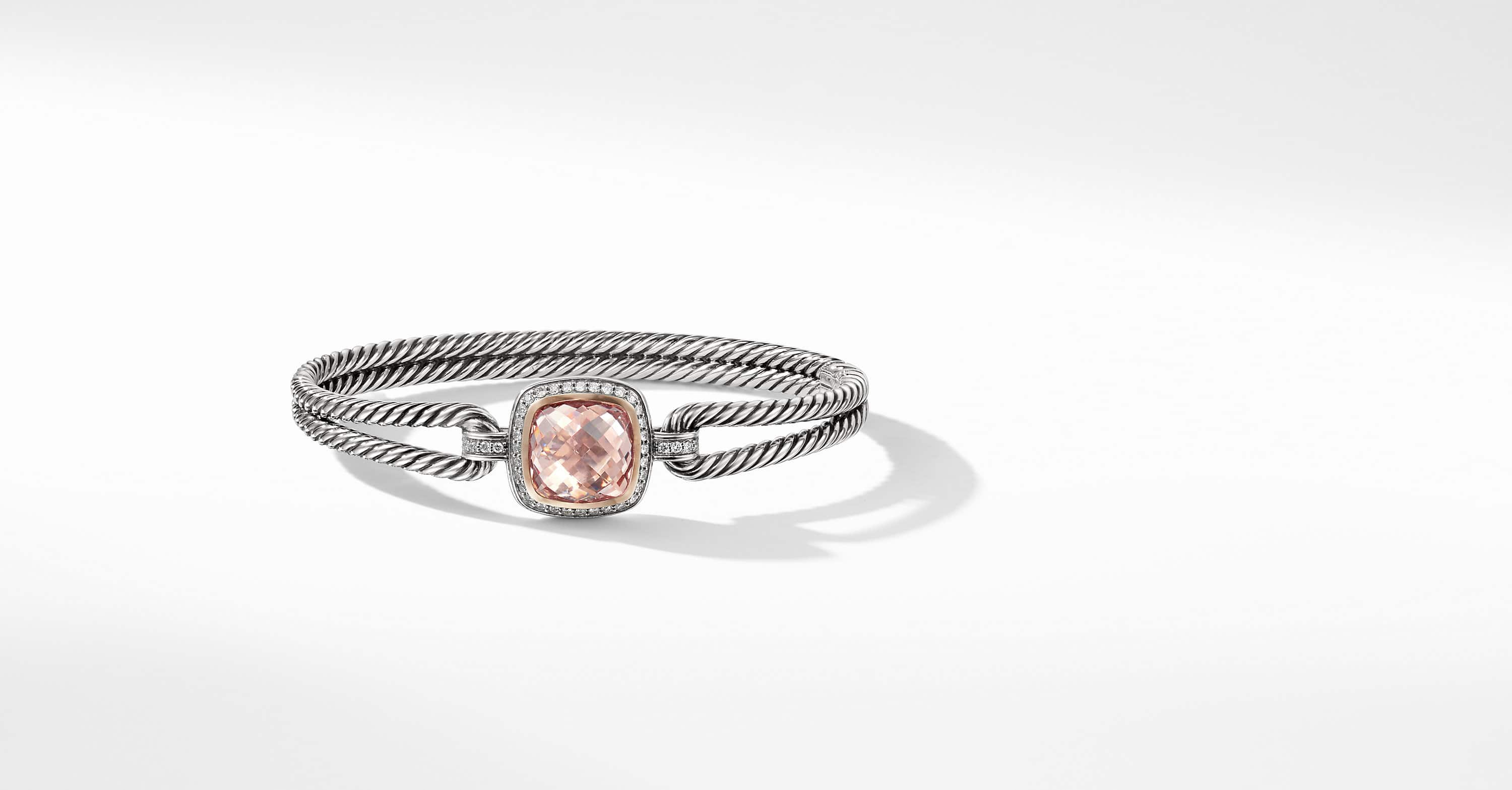Albion Bracelet with 18K Rose Gold and Diamonds