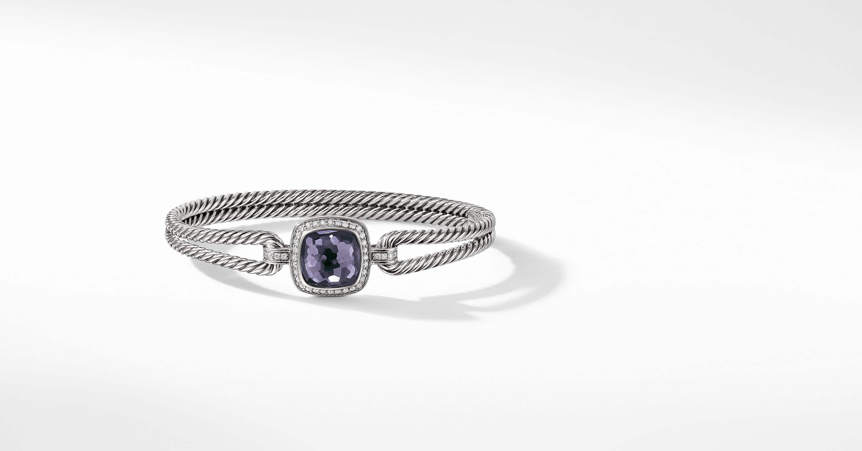 Albion Bracelet with Diamonds, 11mm