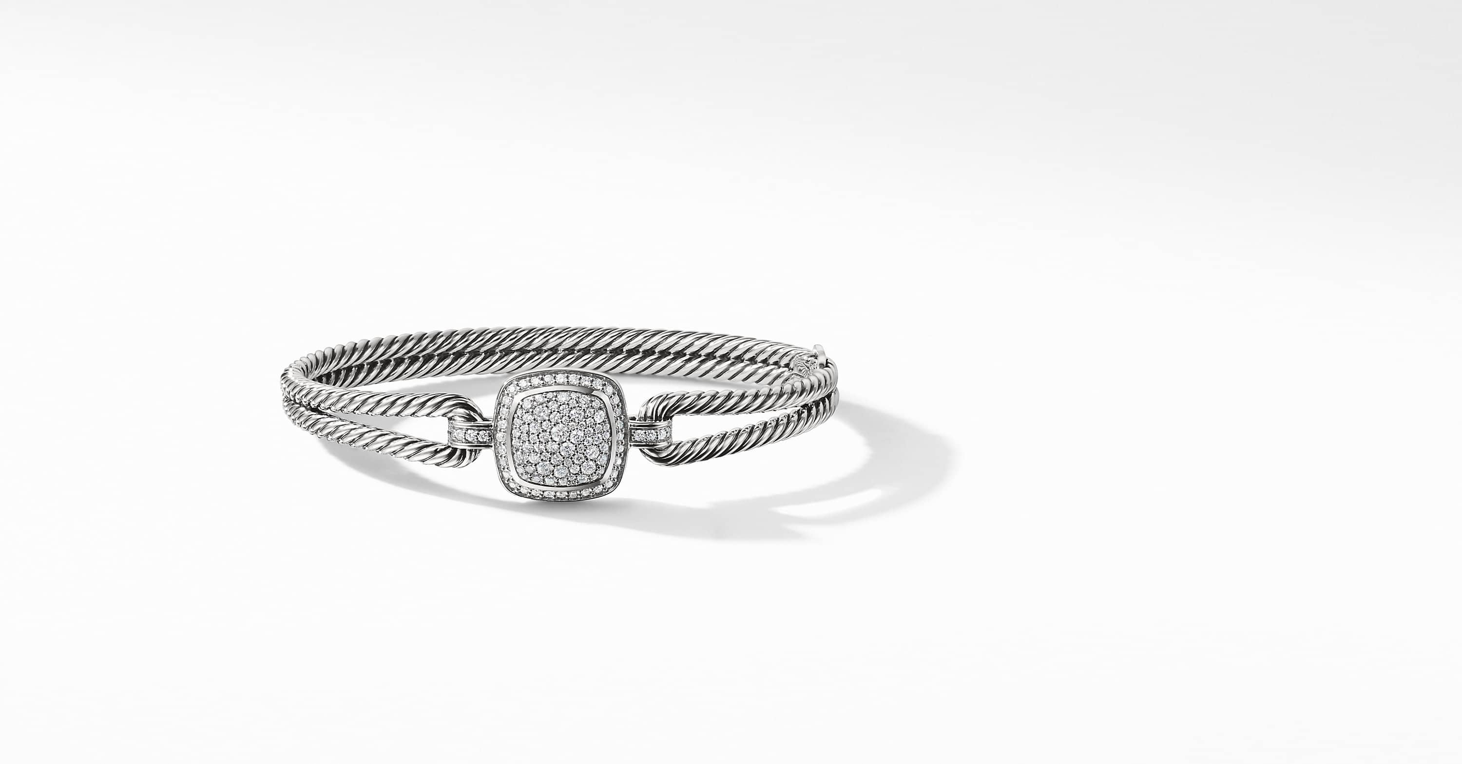 Albion Bracelet with Diamonds, 15mm