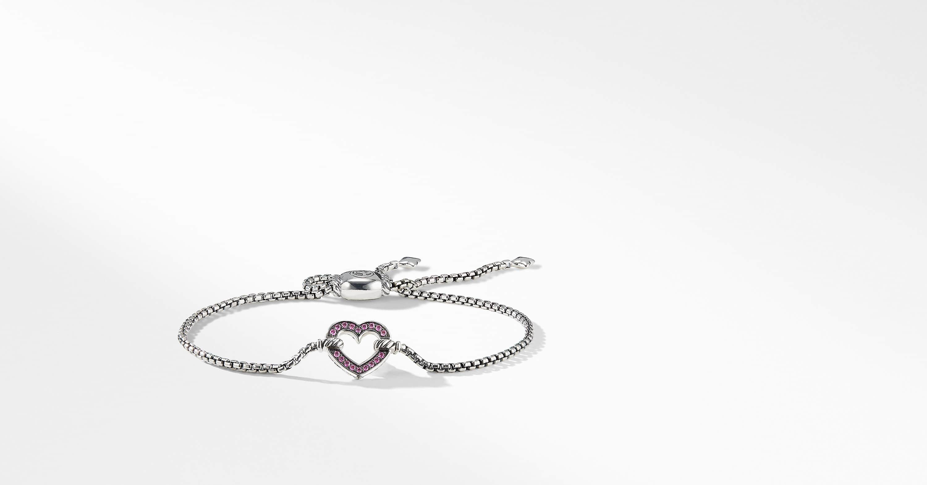 Cable Collectible Heart Station Bracelet