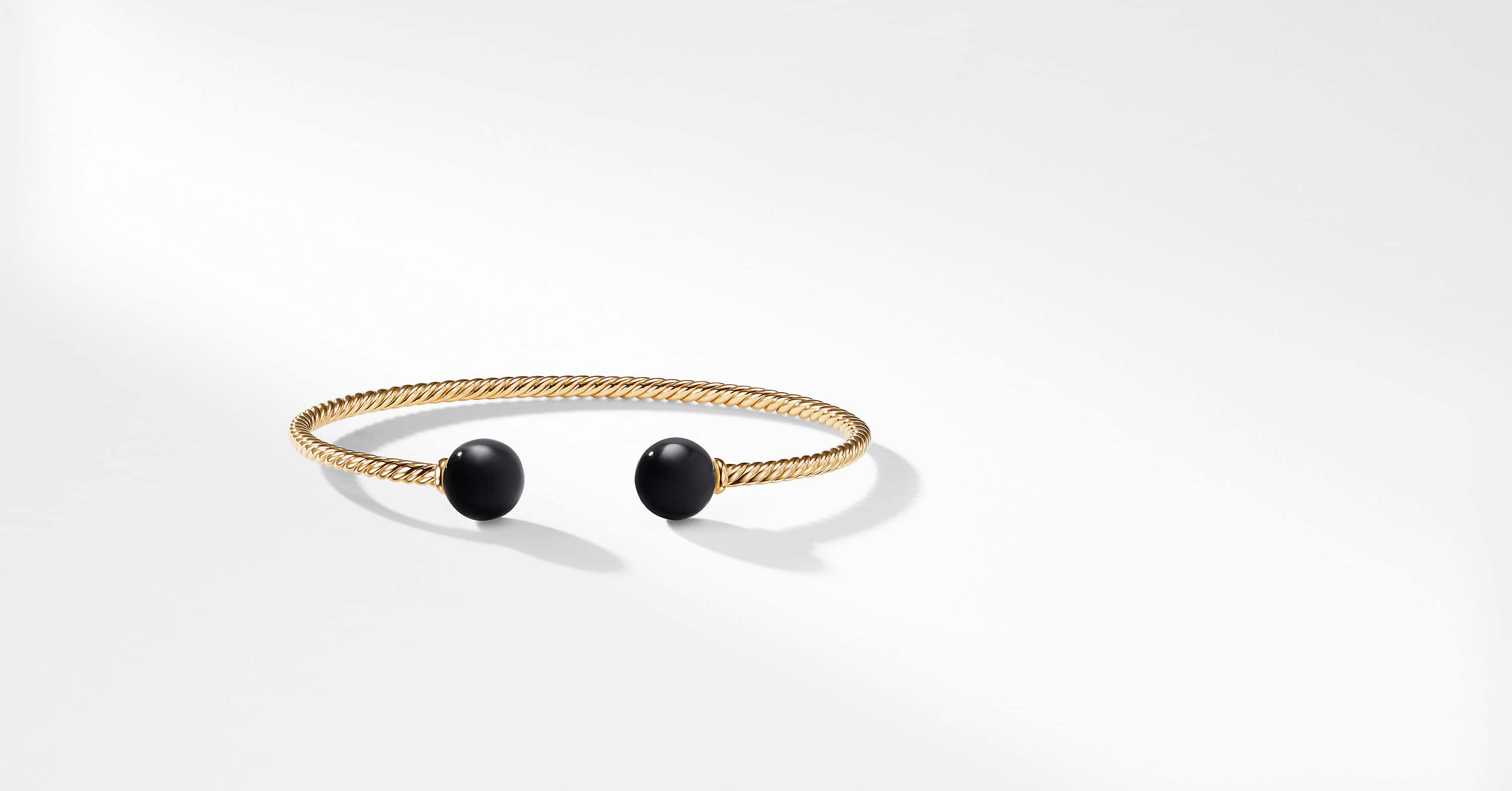 Solari Bead Bracelet in 18K Gold