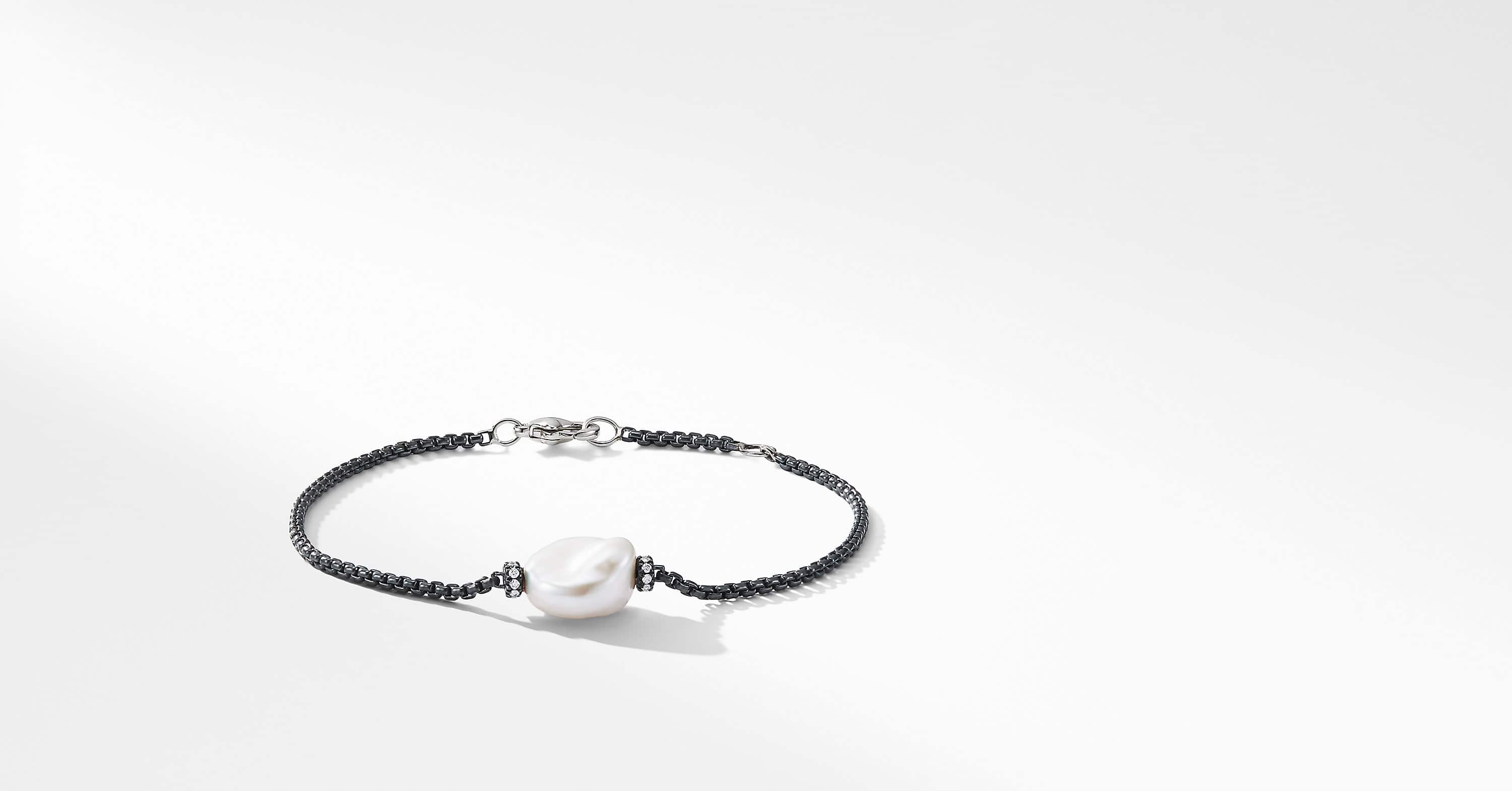 Solari Station Bracelet with Diamonds