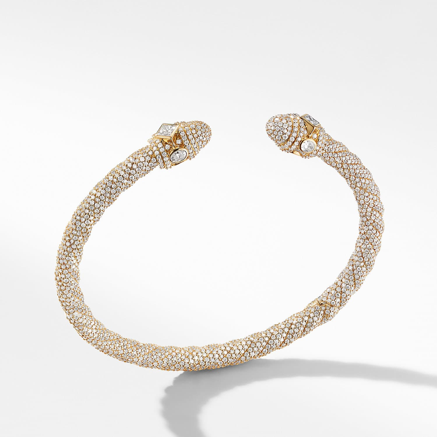 5a730355482e Renaissance Bracelet in 18K Yellow Gold with Diamonds Product Image