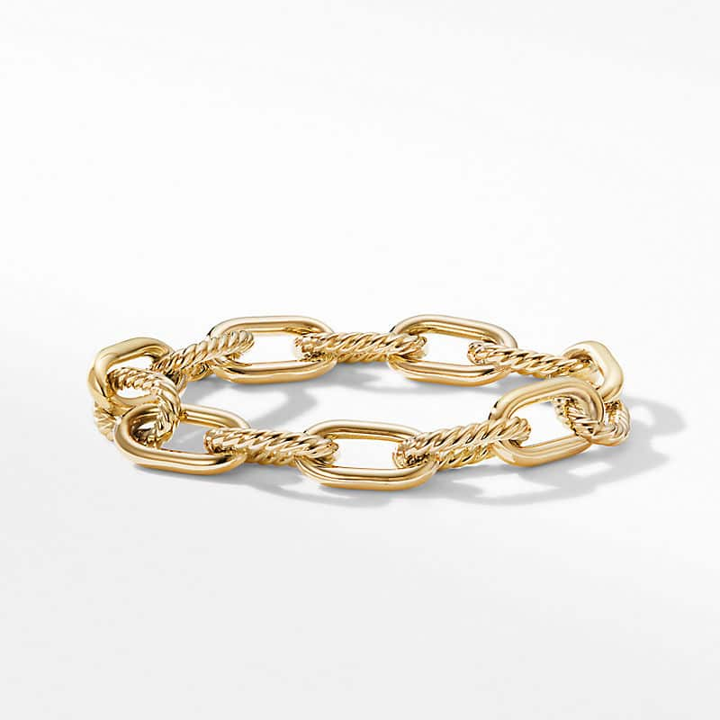 DY Madison® Chain Bracelet in 18K Yellow Gold