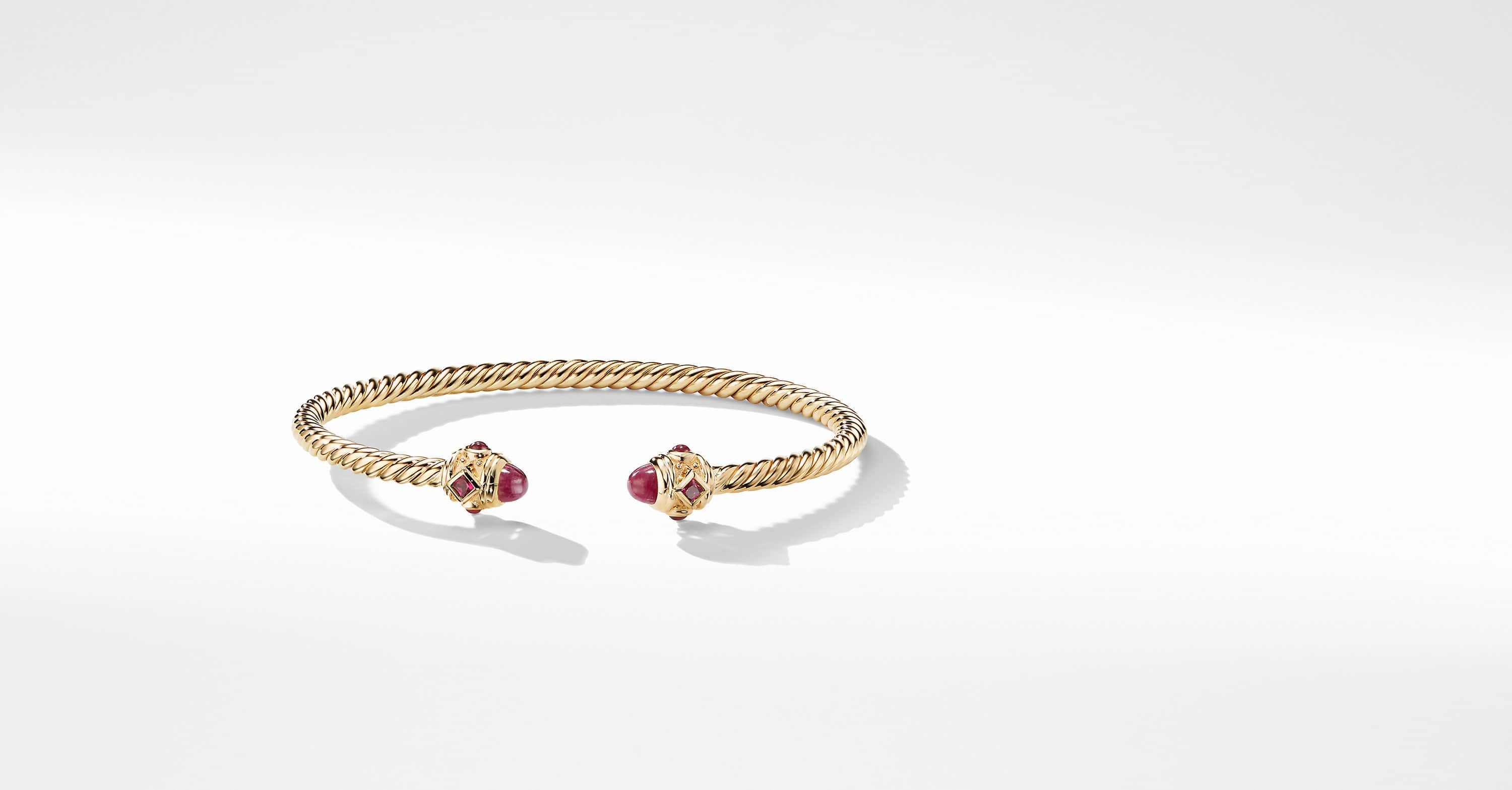 Renaissance Bracelet in 18K Gold, 3.5mm