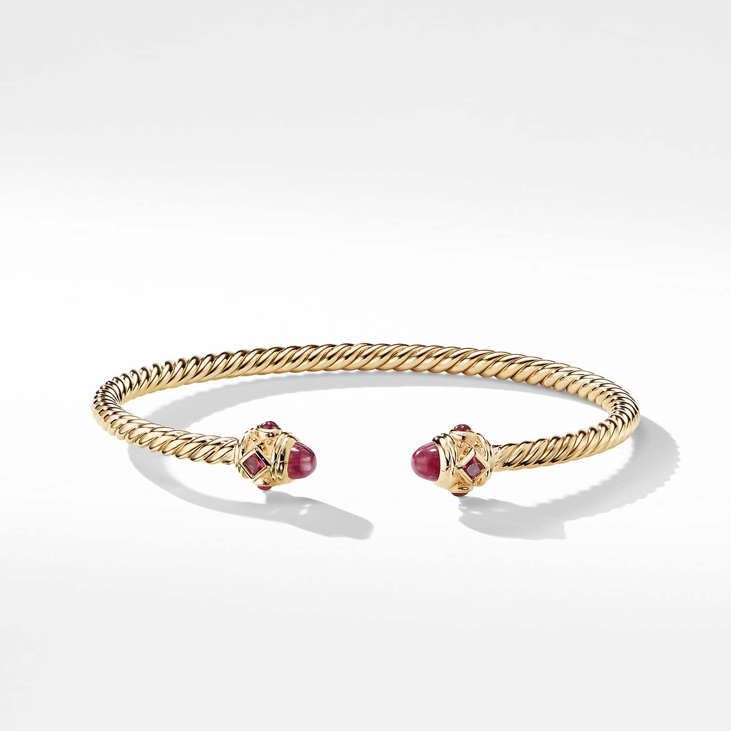 0bcc0e25f Renaissance Bracelet with Rubies in 18K Gold, 3.5mm Product Image