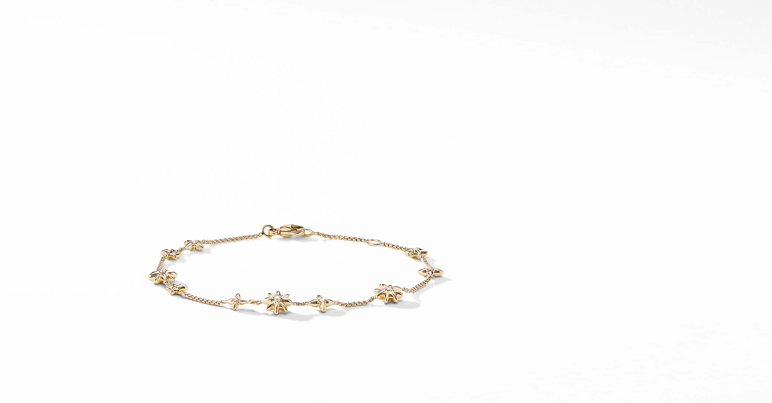 Starburst Constellation Bracelet in 18K Gold with Diamonds