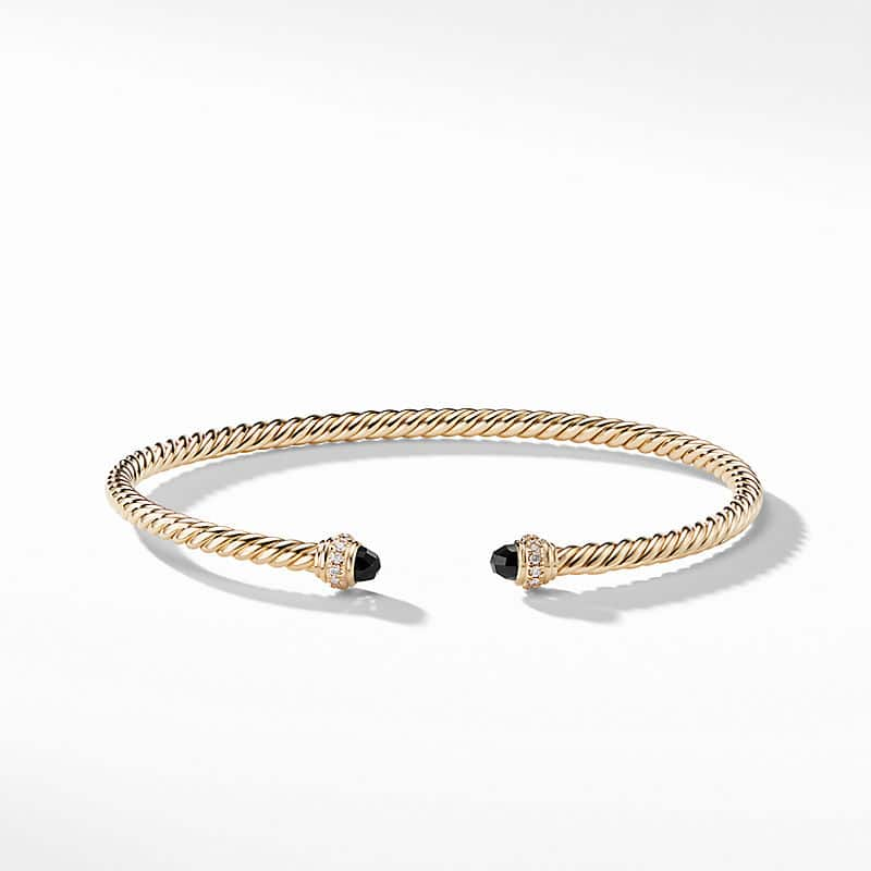 Cablespira® Color Bracelet in 18K Yellow Gold with
