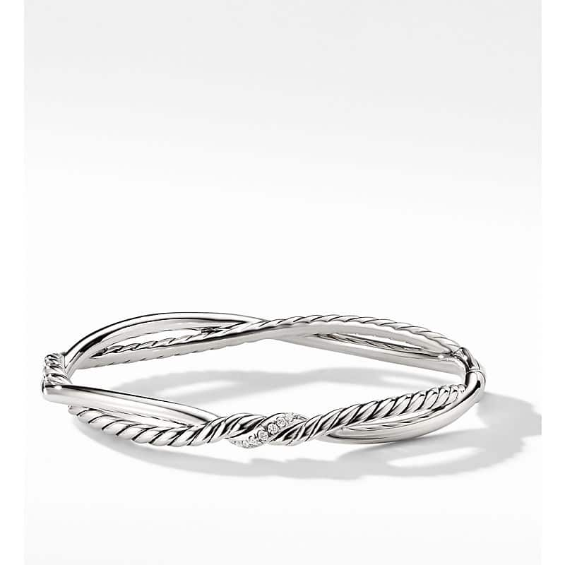 Continuance Small Station Bracelet with Diamonds