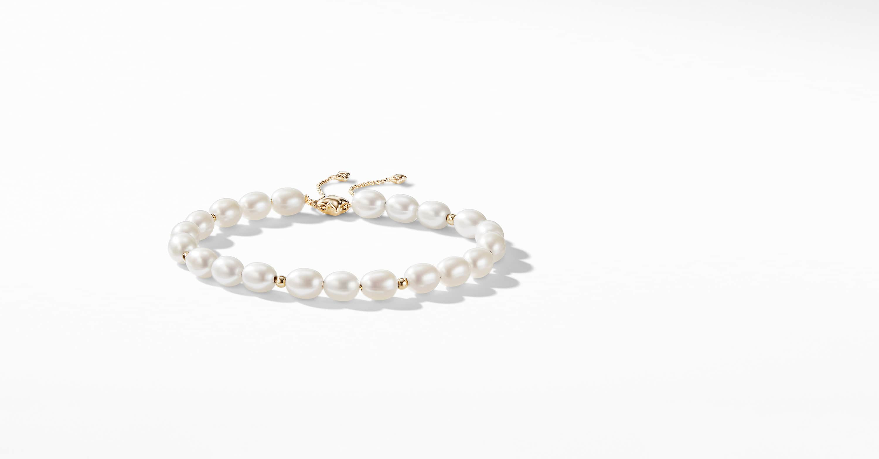 Spiritual Bead Bracelet with 18K Gold