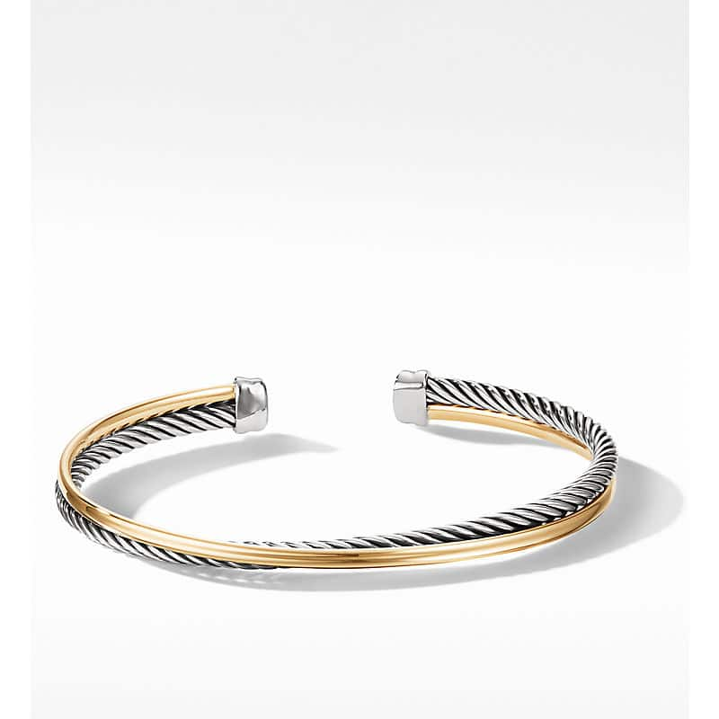 The Crossover Collection Bracelet with 18K Yellow Gold