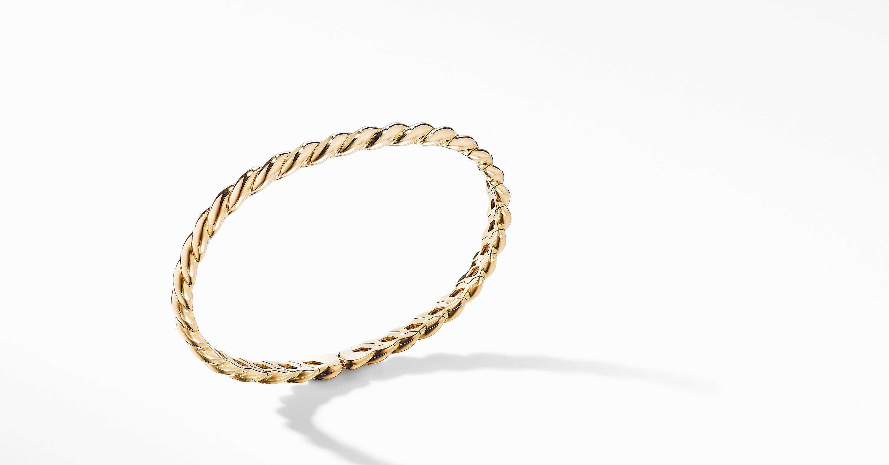 Gold Flex Bracelet in 18K Yellow Gold