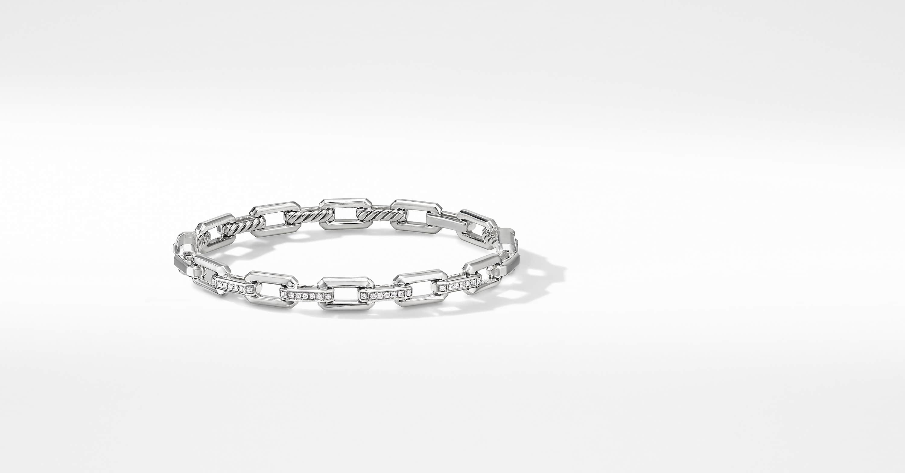 Bracelet à maillon Stax avec diamants