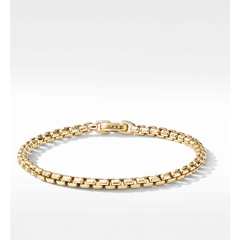 DY Bel Aire Chain Bracelet in 18K Yellow Gold, 4mm