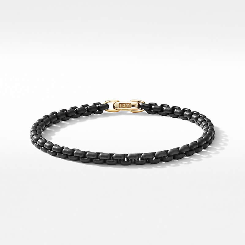 DY Bel Aire Chain Bracelet in Black with