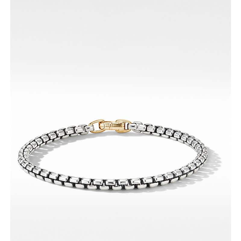 DY Bel Aire Bracelet with 14K Yellow Gold, 4mm