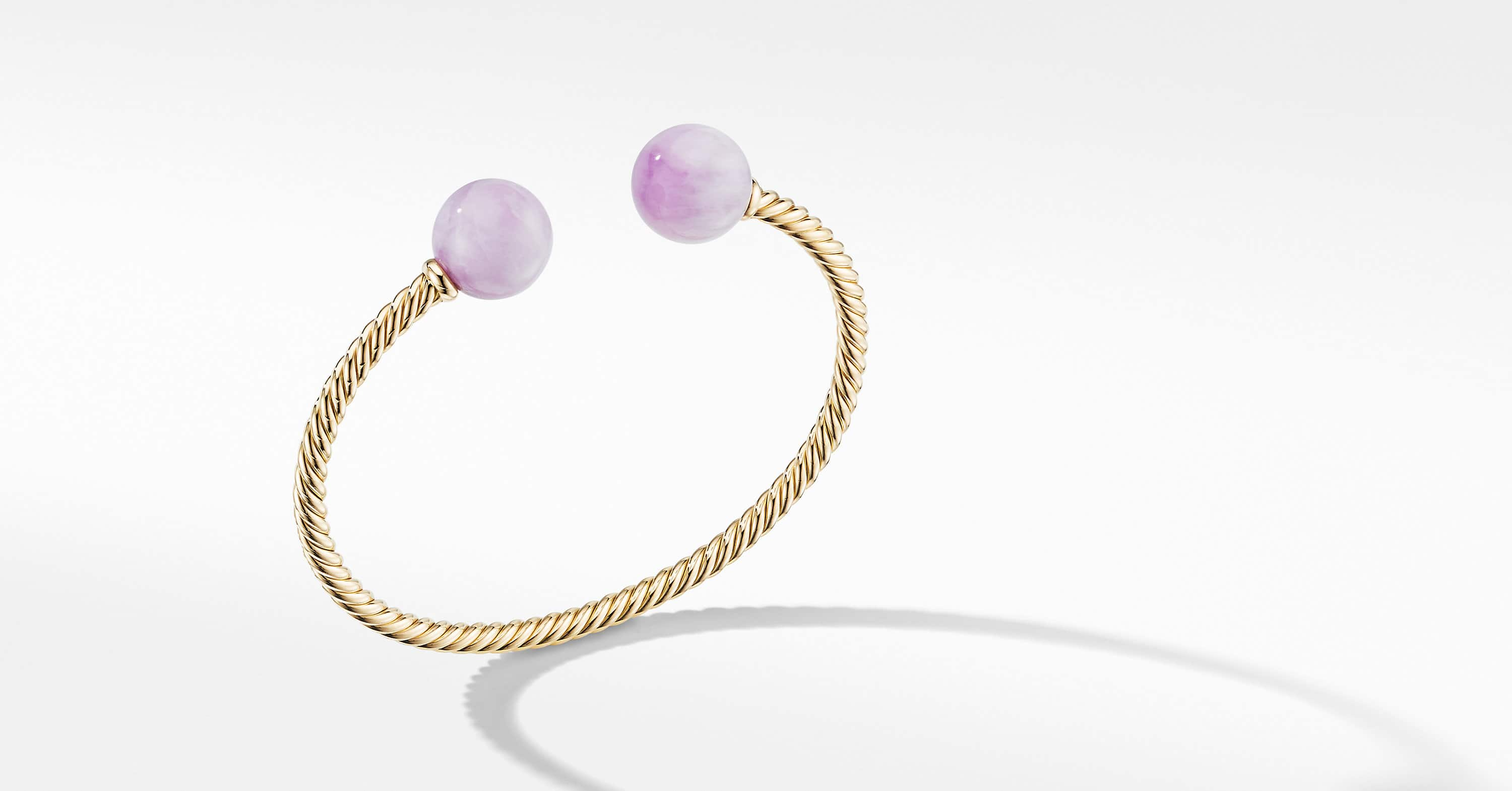 Solari XL Cable Bracelet in 18K Yellow Gold, 3.5mm