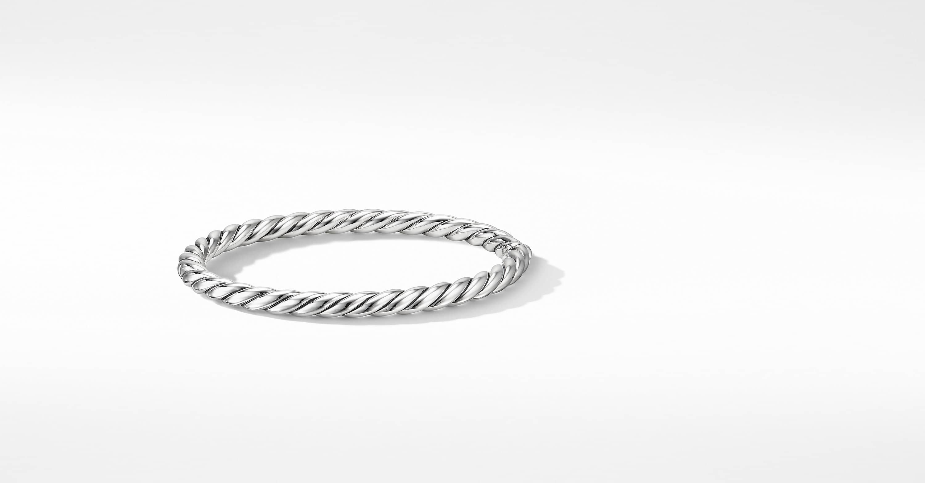 Stax Cable Bracelet, 5mm