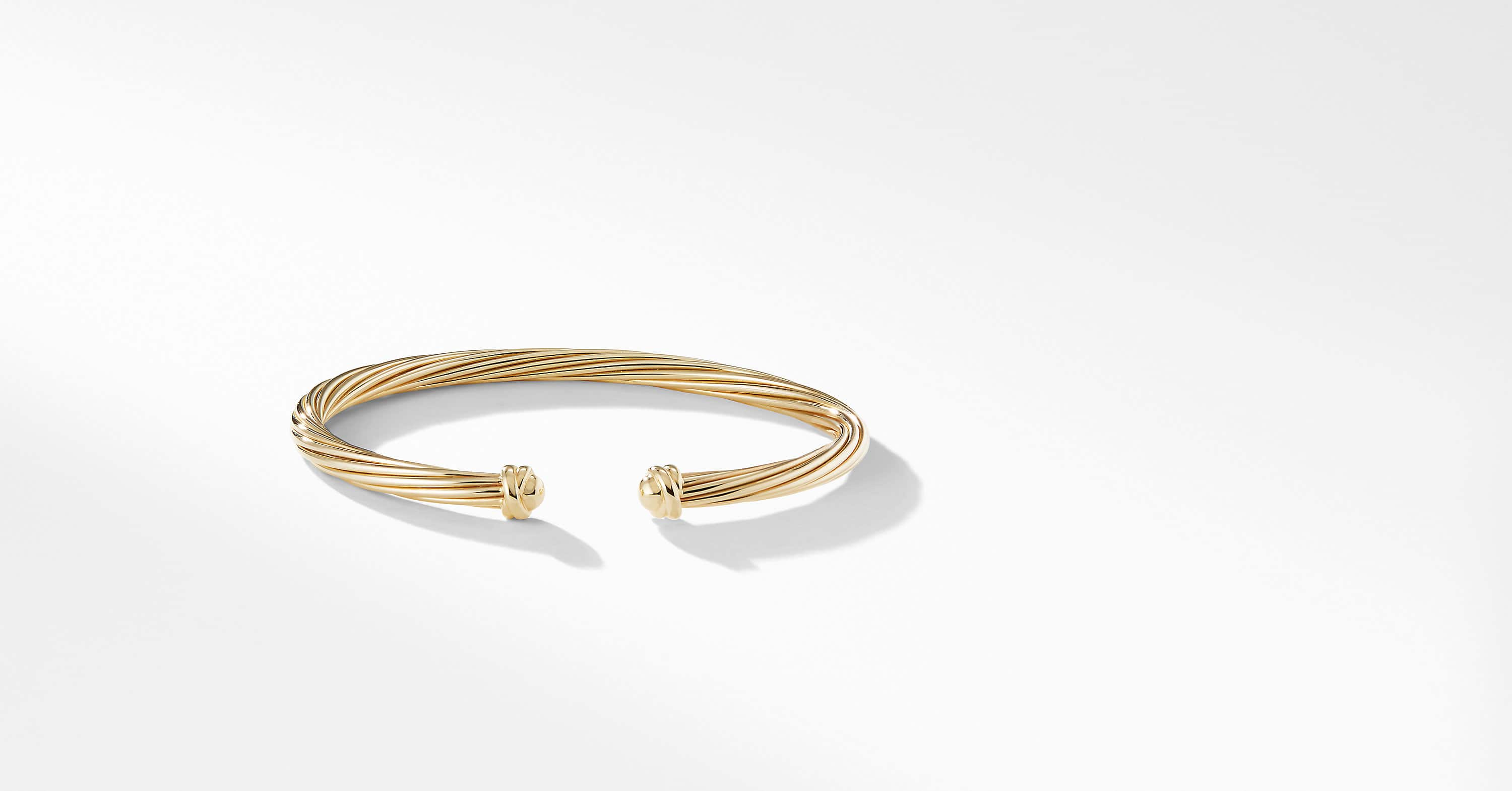 Helena Bracelet in 18K Yellow Gold, 4mm
