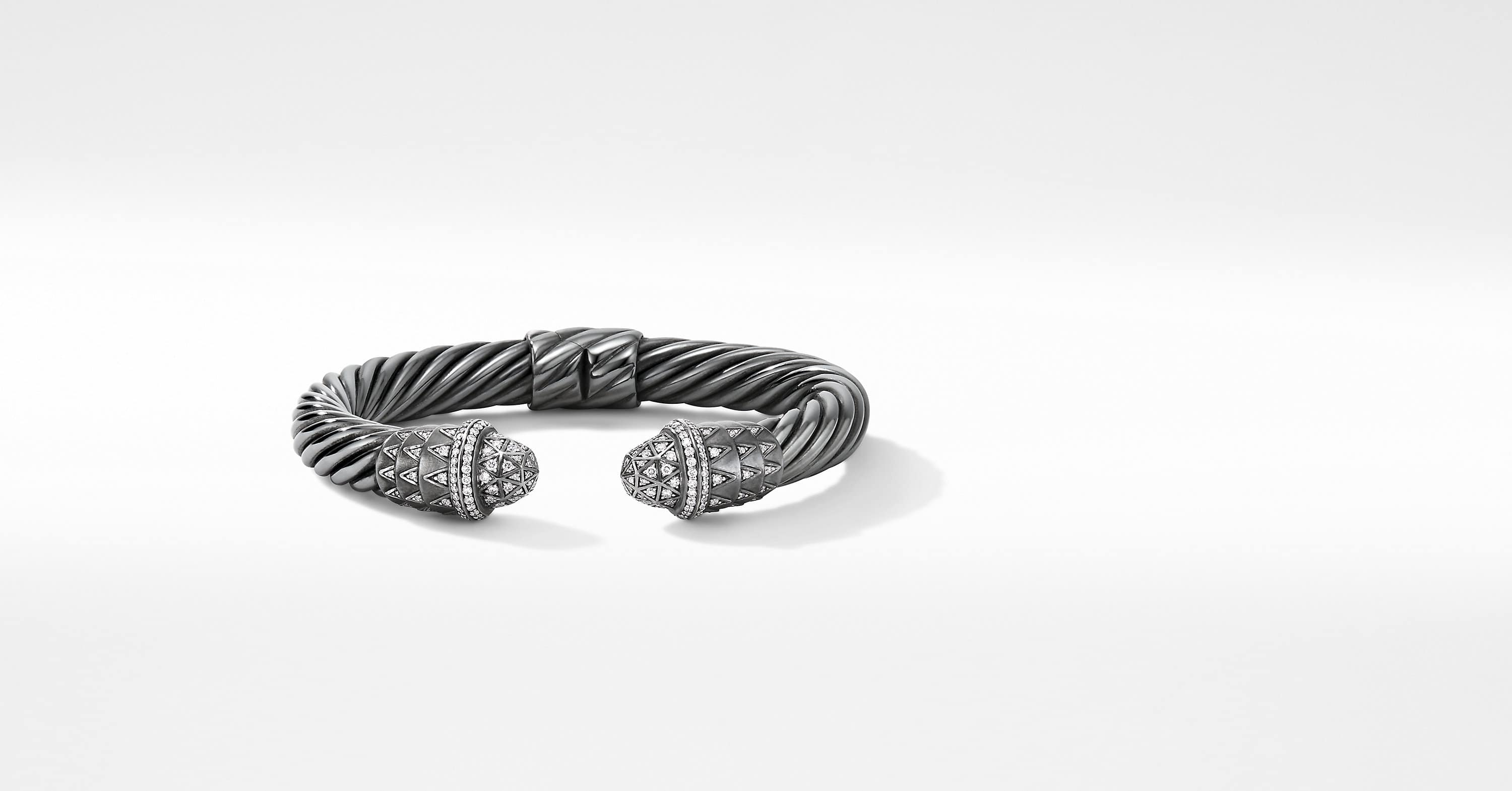 Deco Cable Bracelet with Pavé