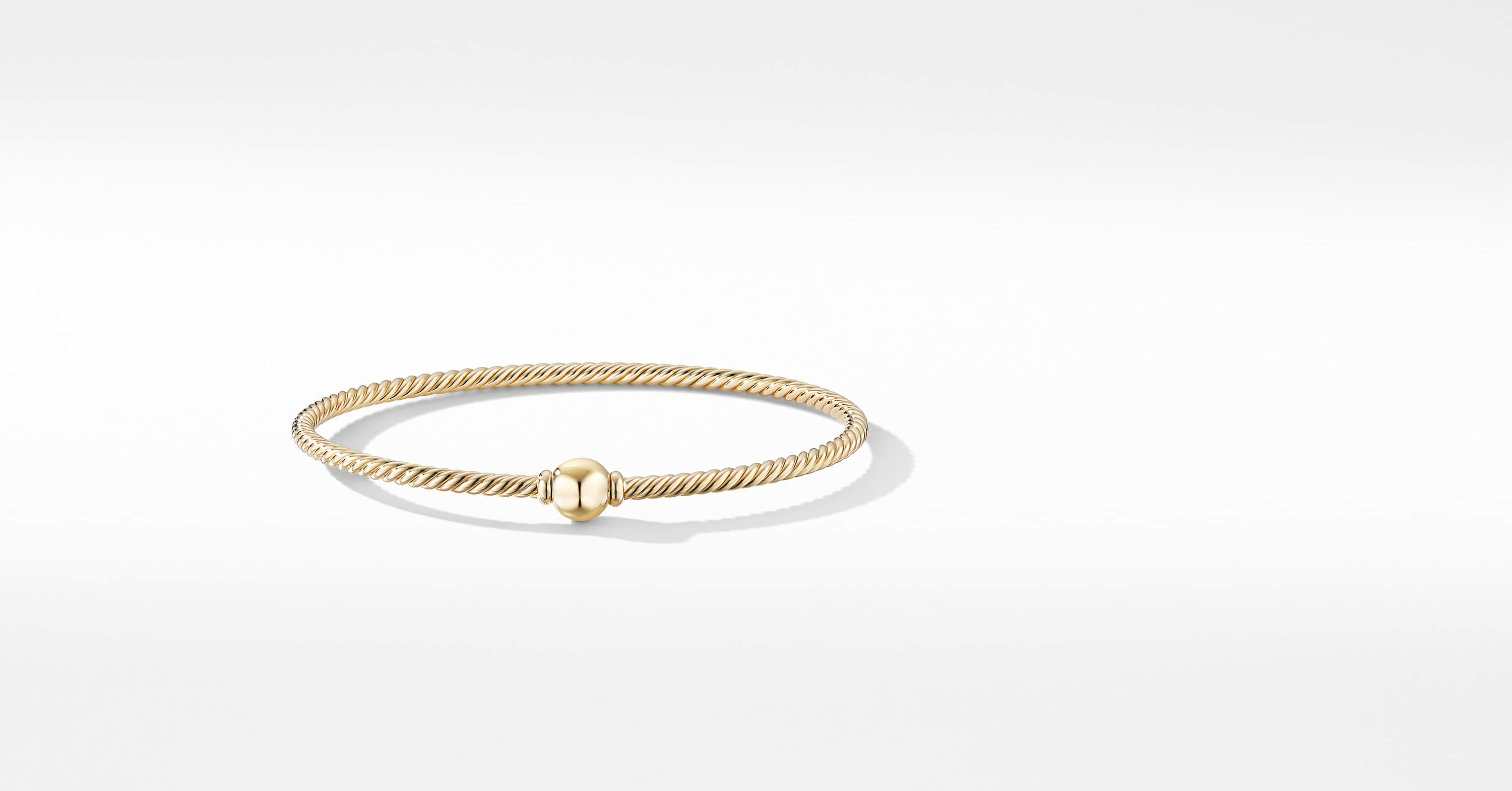 Solari Center Station Bracelet in 18K Yellow Gold