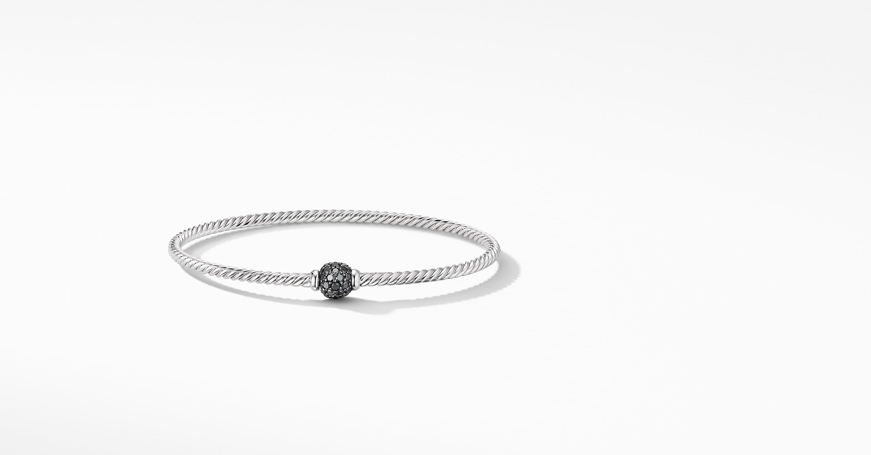 Solari Center Station Bracelet in 18K White Gold