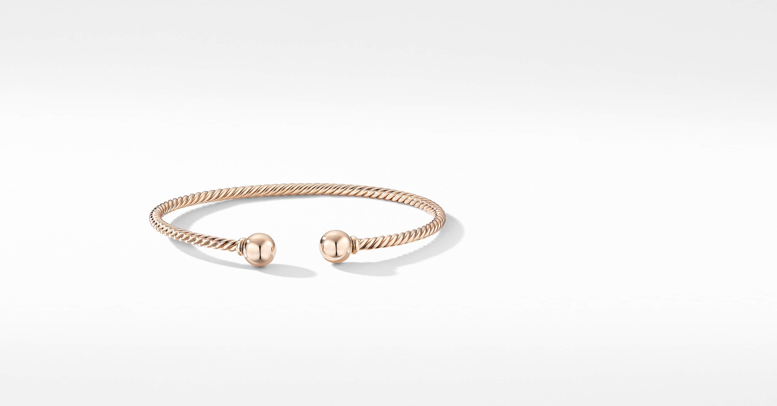 Bracelet Solari en or rose 18K