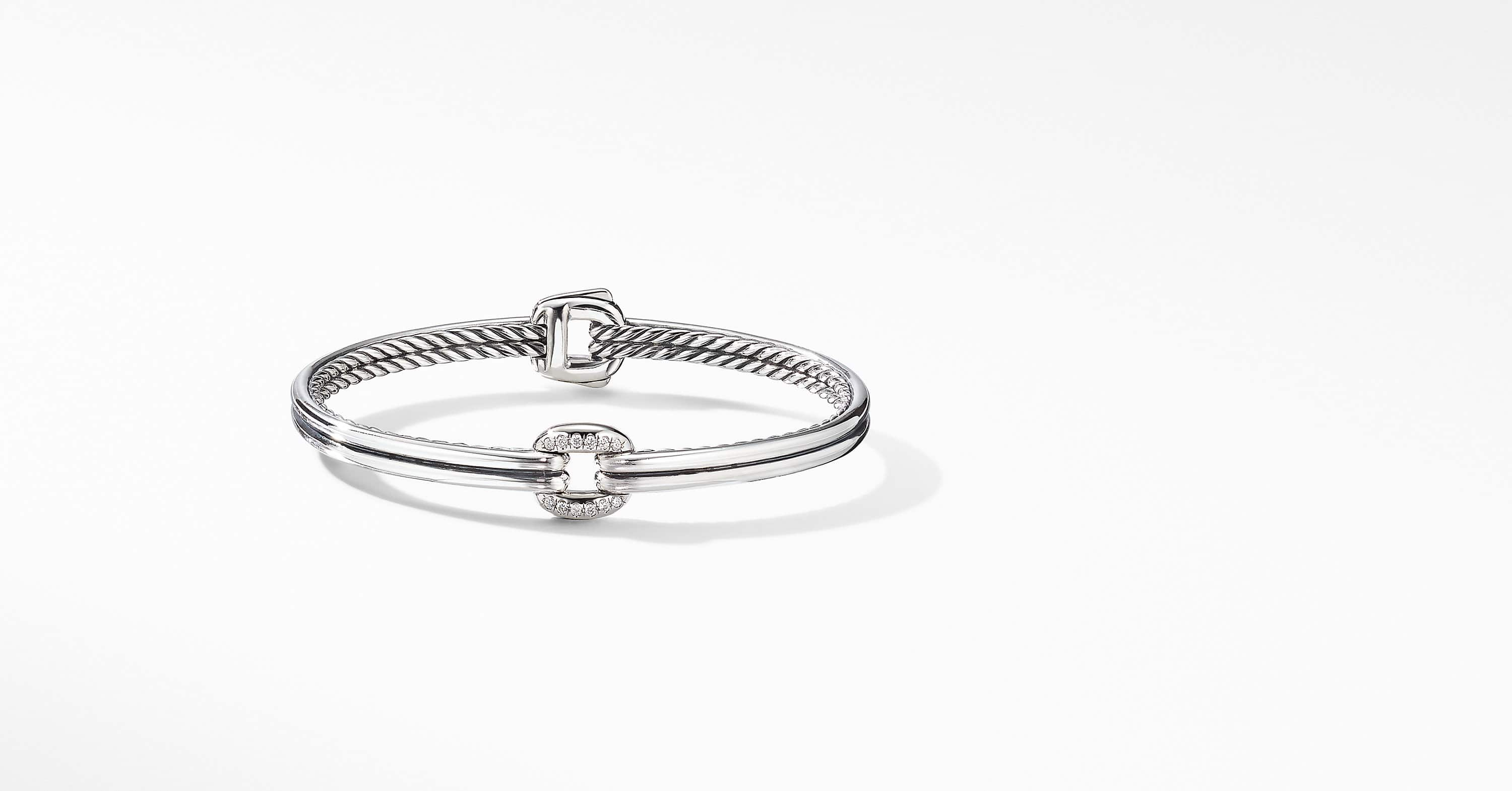 Thoroughbred Center Link Bracelet with Diamonds