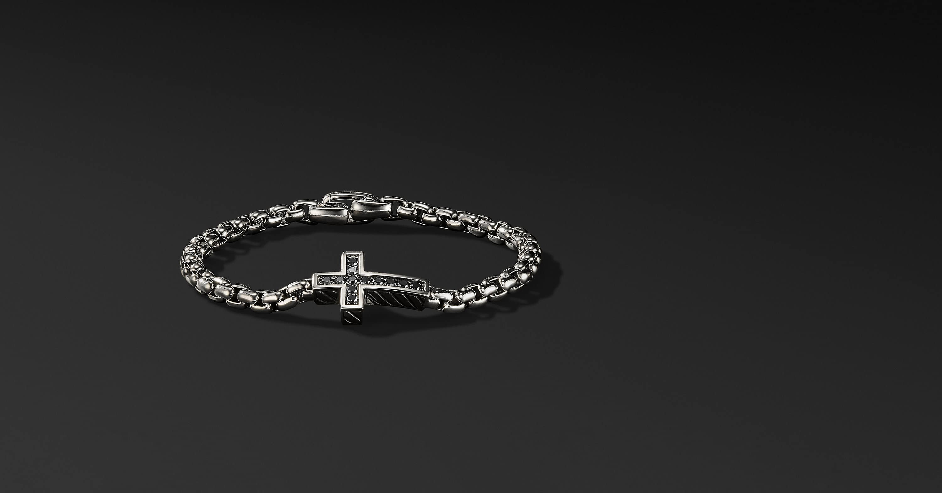 Pavé Cross Bracelet