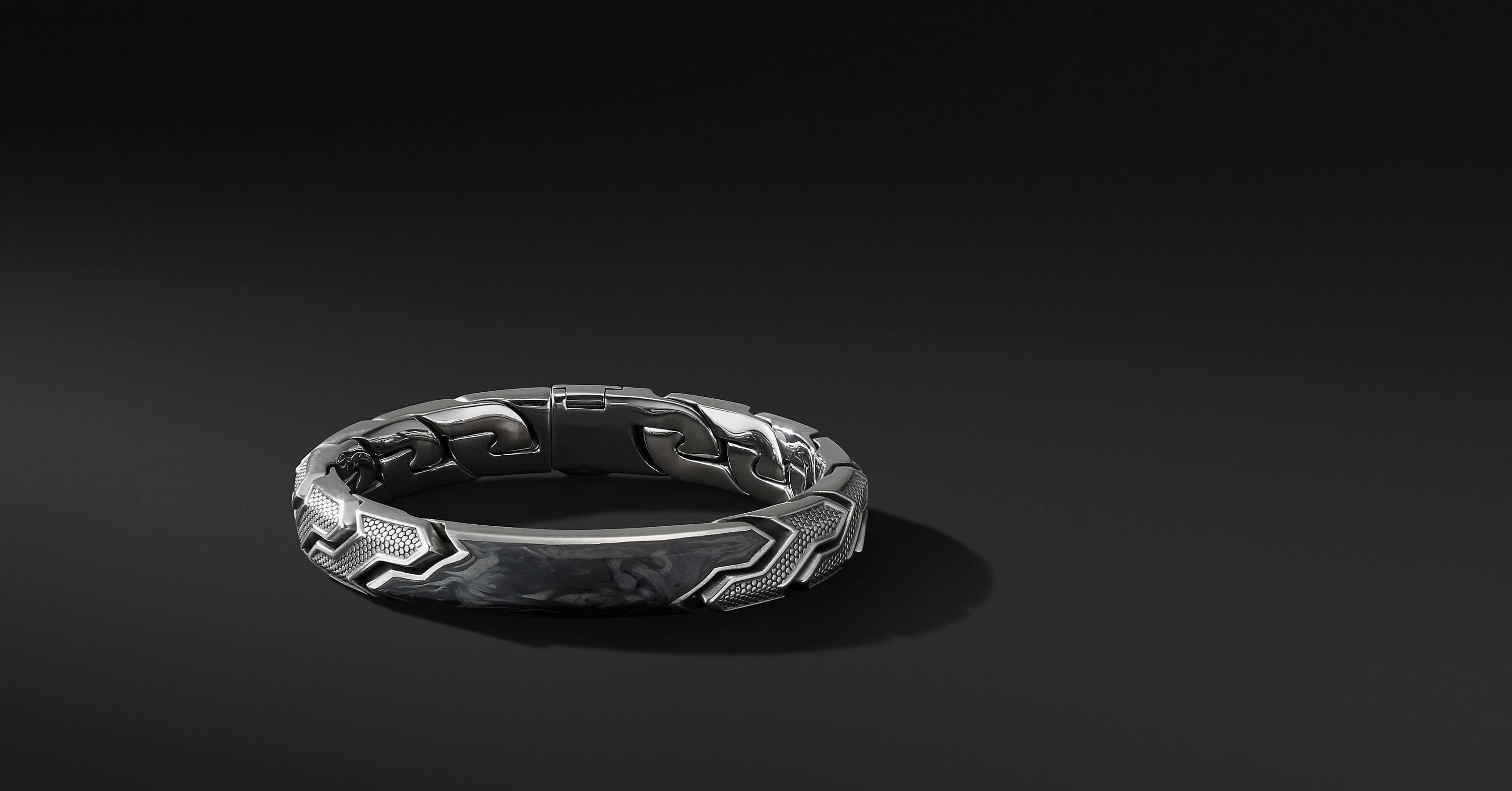 Forged Carbon ID Bracelet