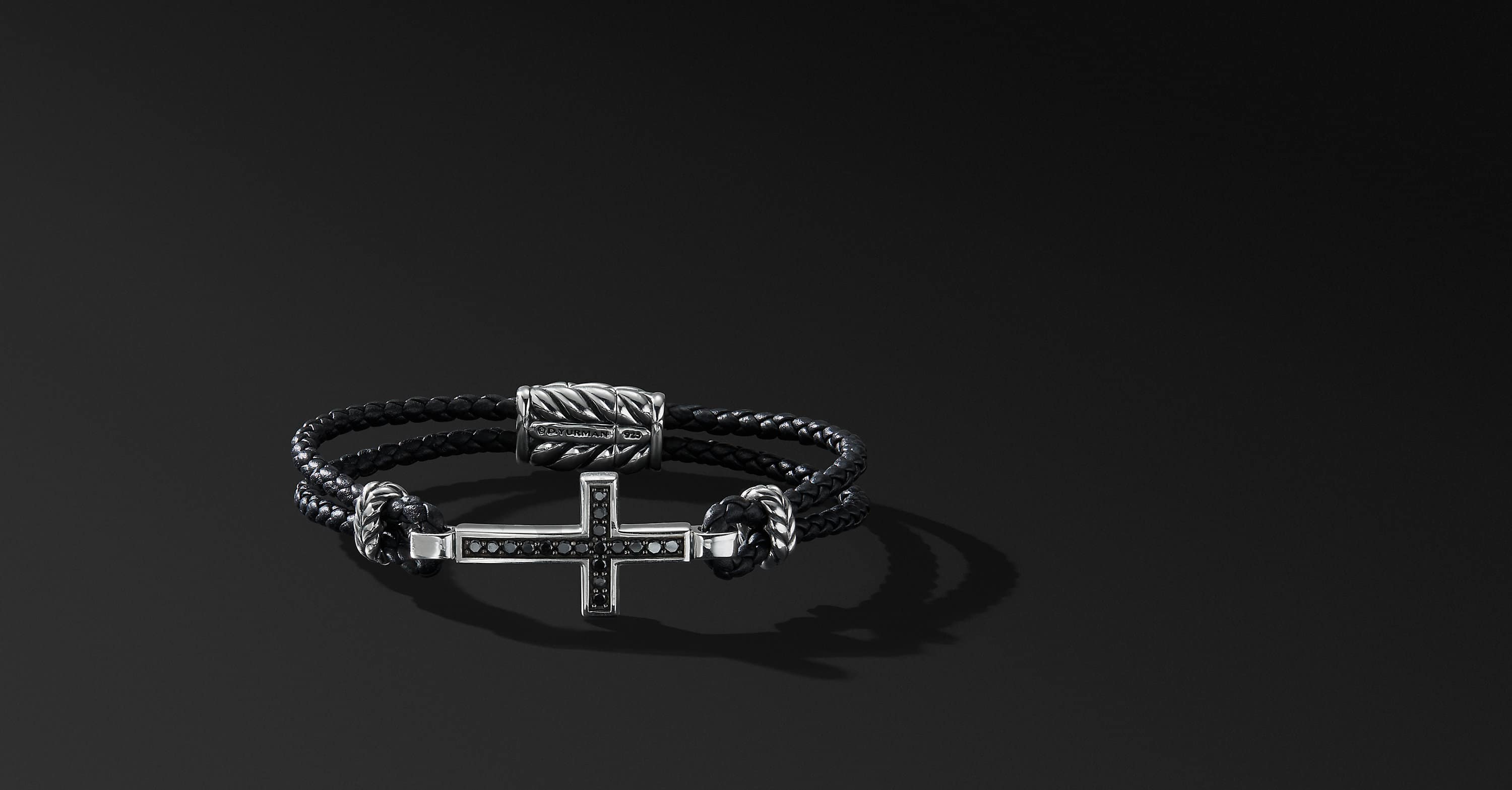 Pave Cross Bracelet